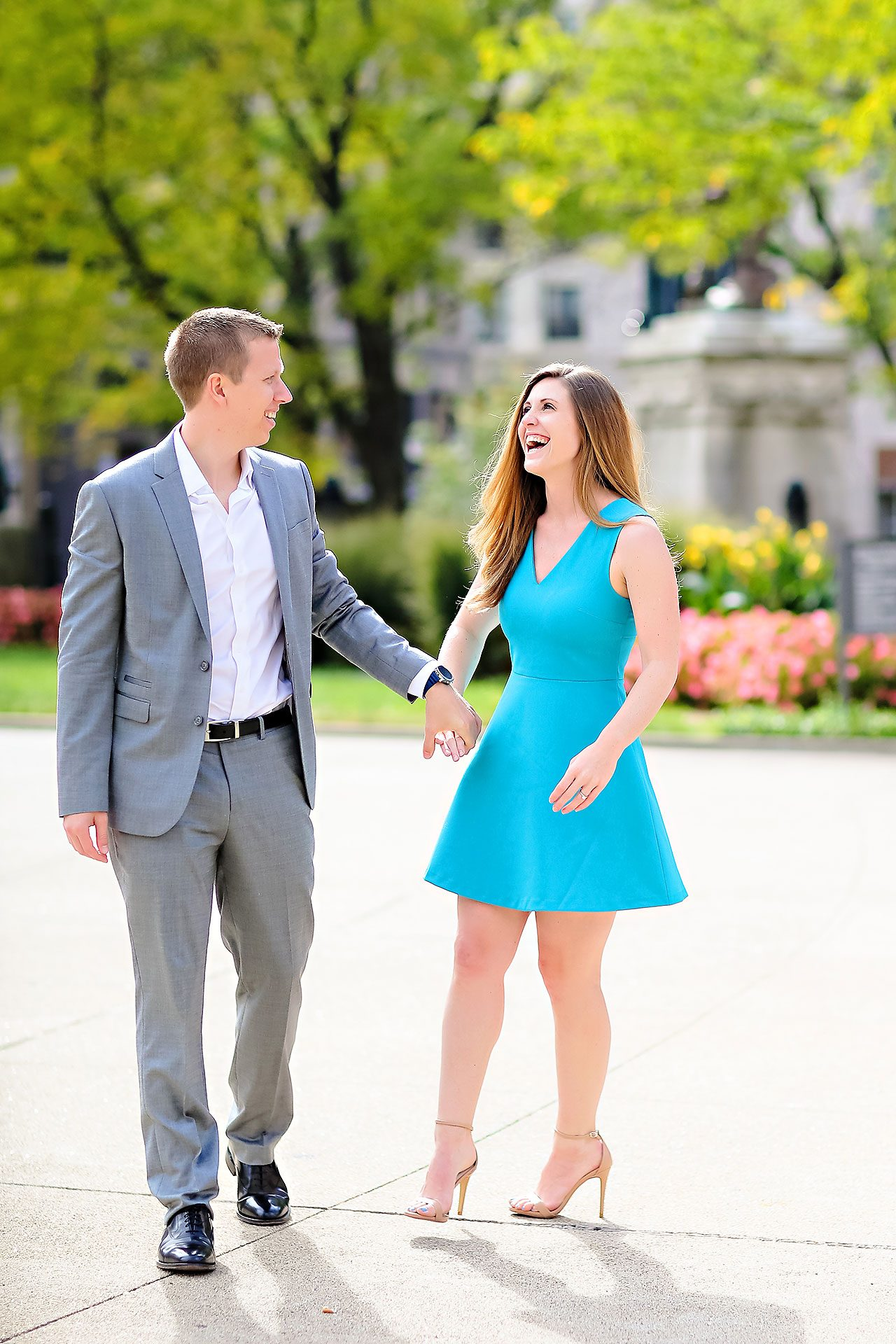 Chelsea Jeff Downtown Indy Engagement Session 028