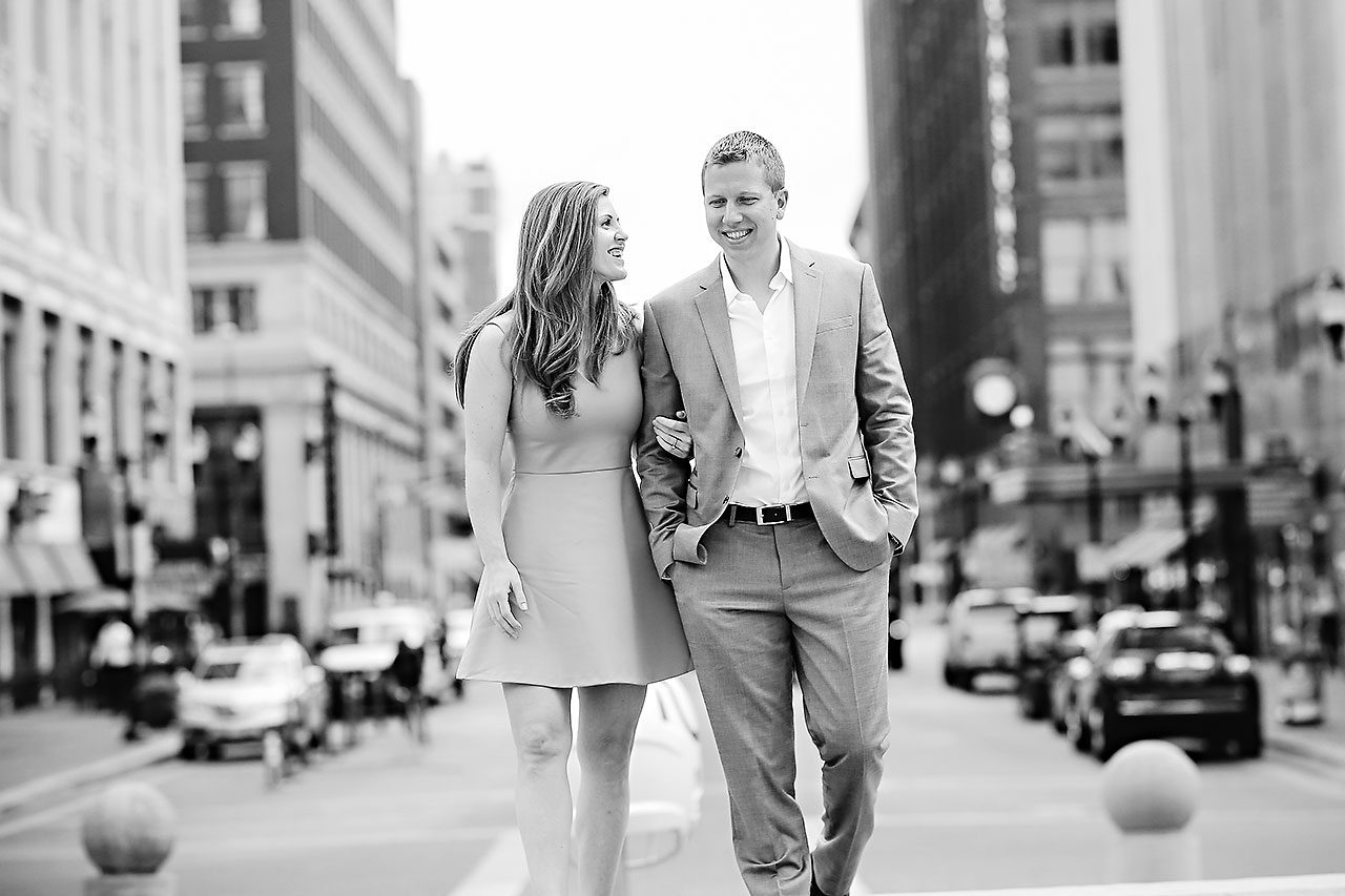 Chelsea Jeff Downtown Indy Engagement Session 042