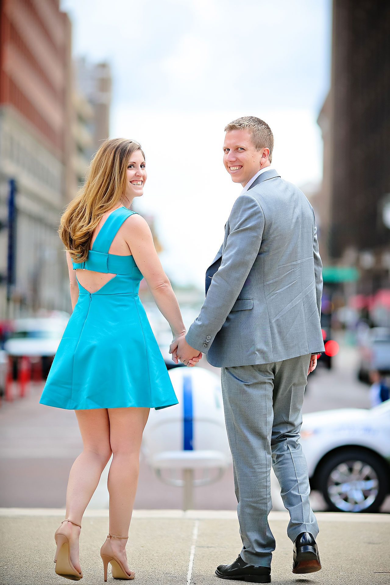 Chelsea Jeff Downtown Indy Engagement Session 050