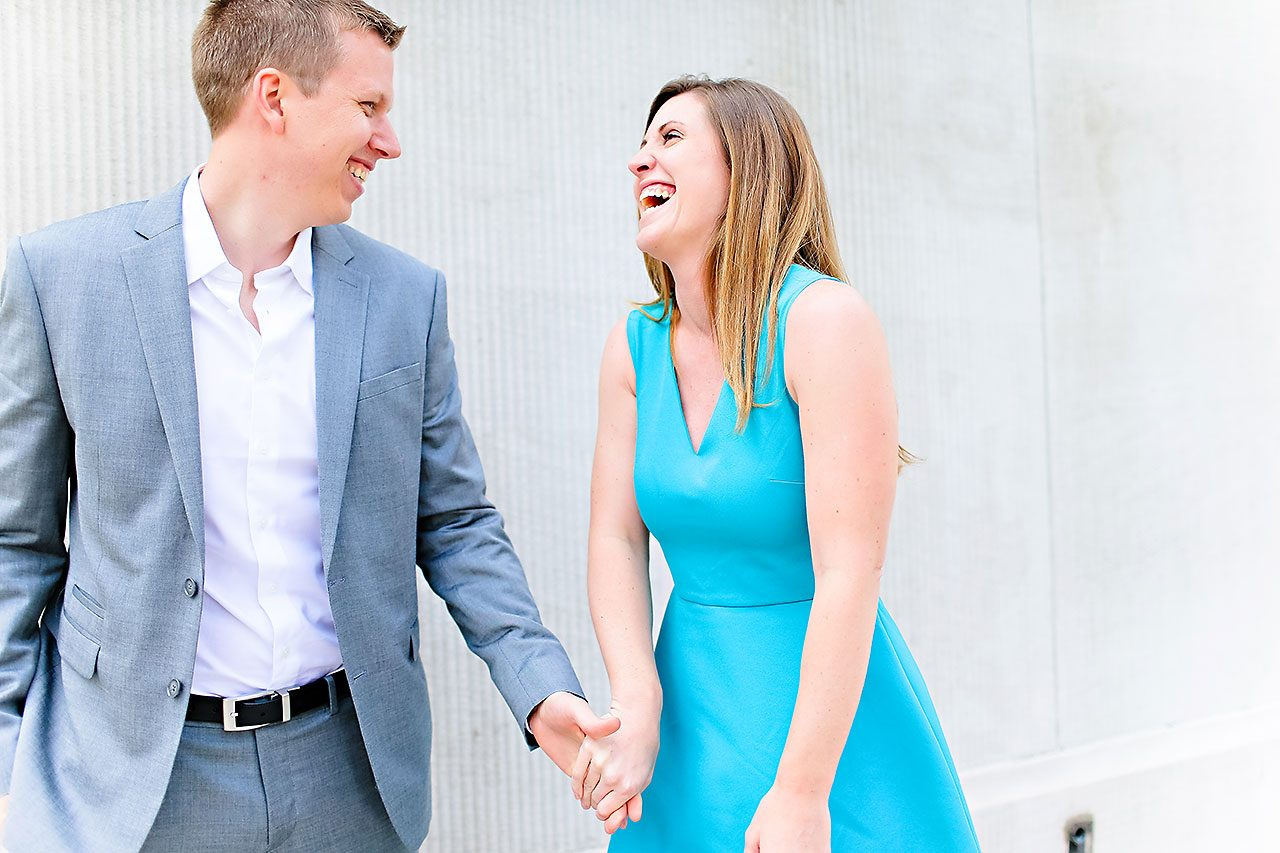 Chelsea Jeff Downtown Indy Engagement Session 072