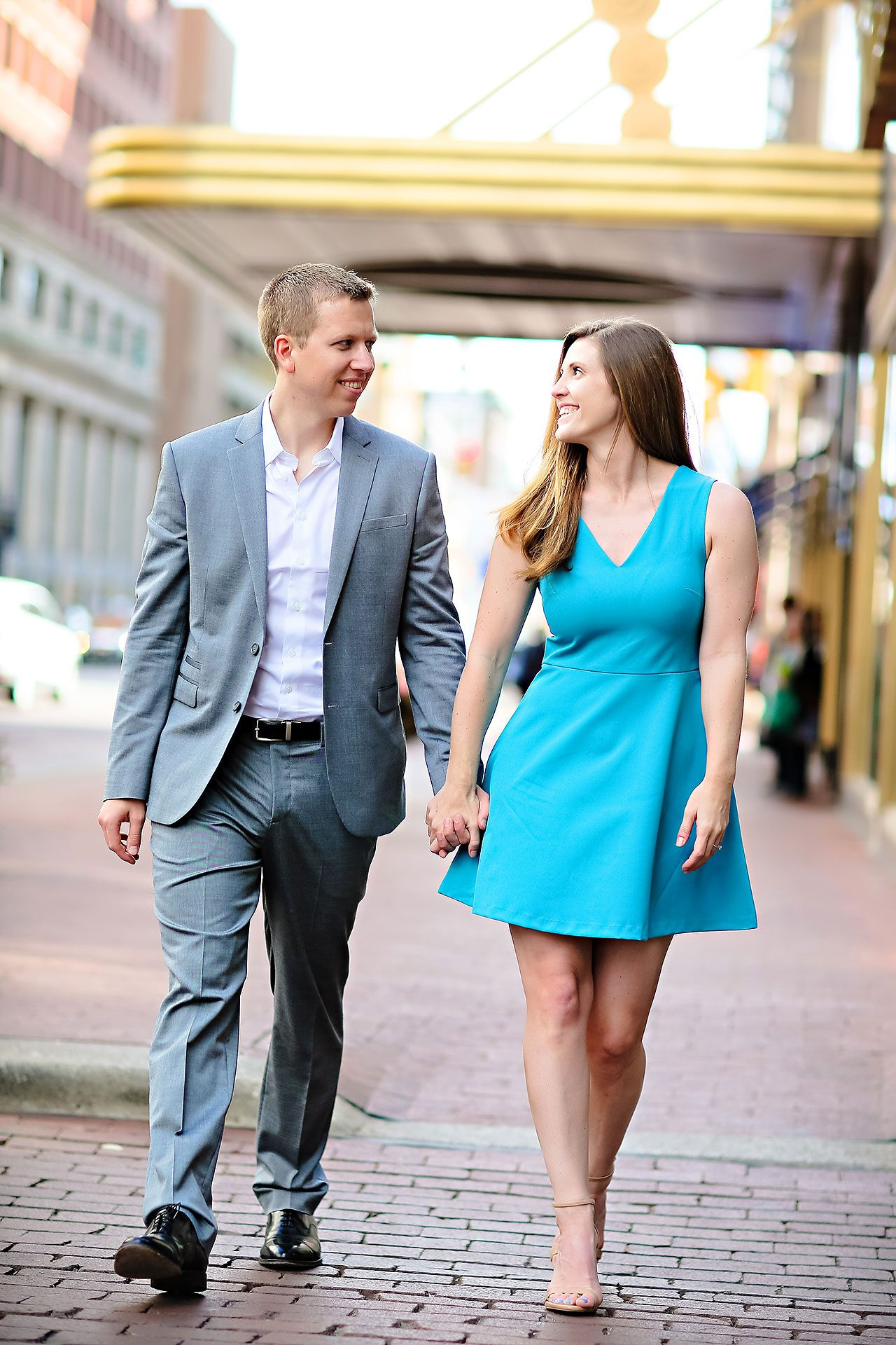 Chelsea Jeff Downtown Indy Engagement Session 078