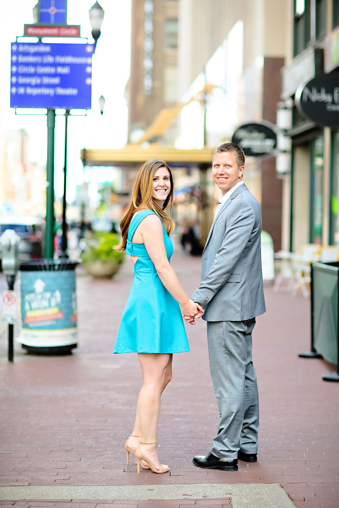 Chelsea Jeff Downtown Indy Engagement Session 083