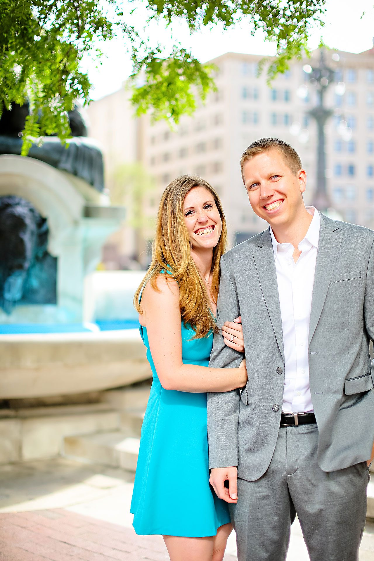 Chelsea Jeff Downtown Indy Engagement Session 088