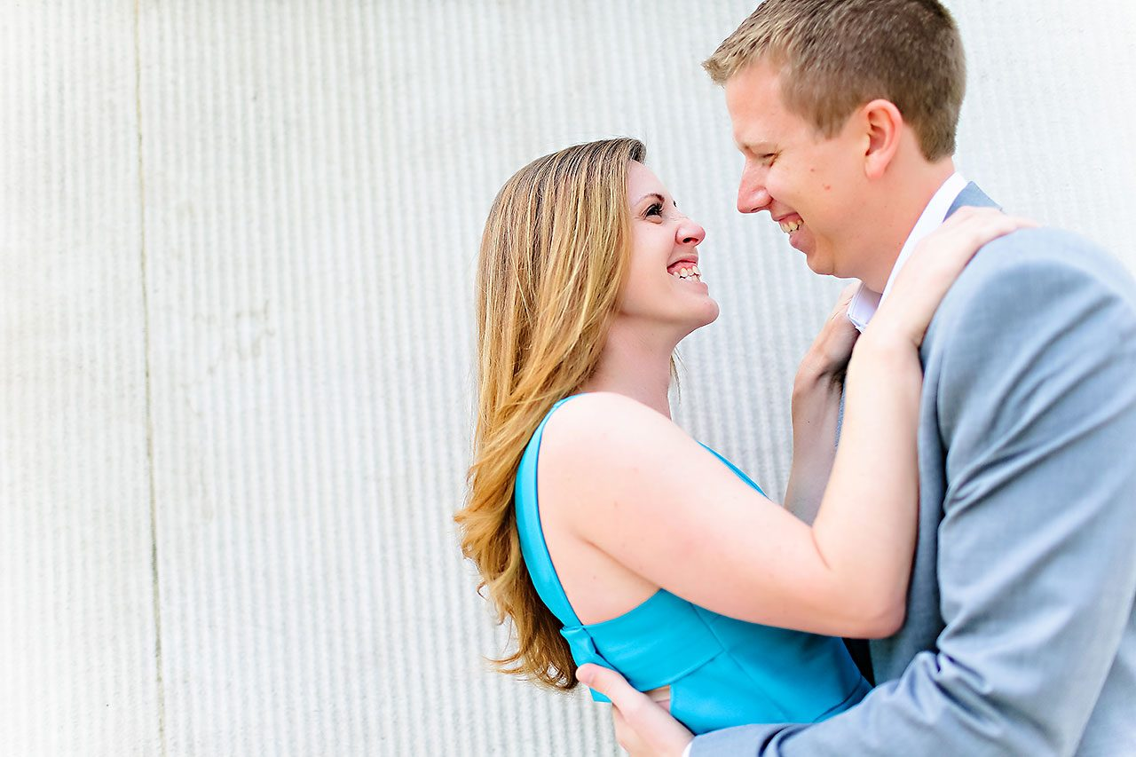 Chelsea Jeff Downtown Indy Engagement Session 097