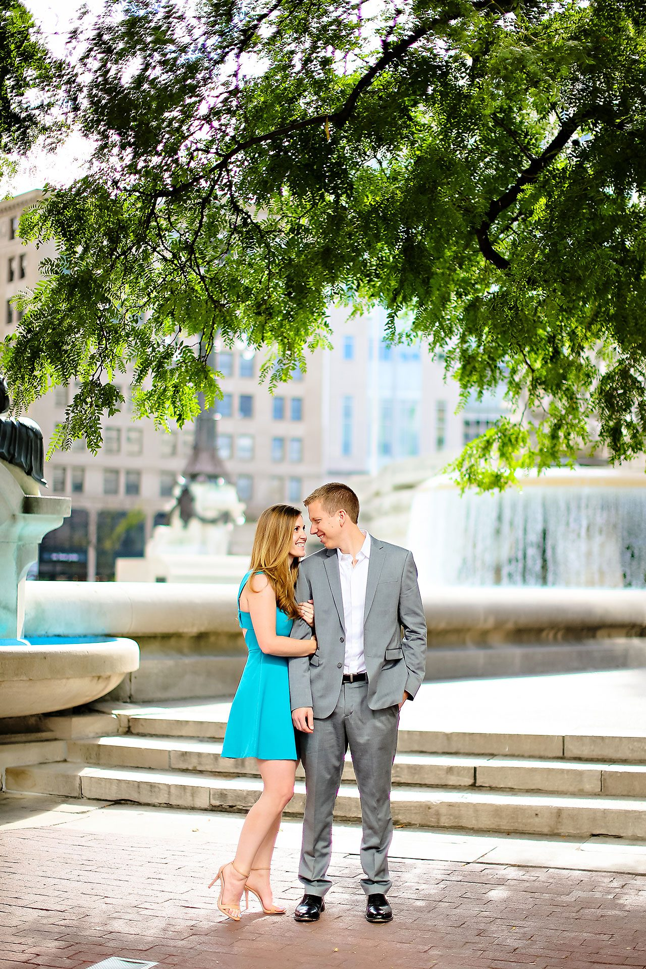 Chelsea Jeff Downtown Indy Engagement Session 108