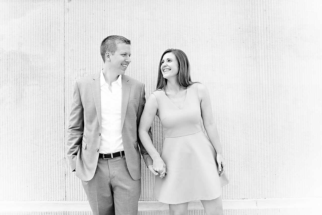Chelsea Jeff Downtown Indy Engagement Session 118