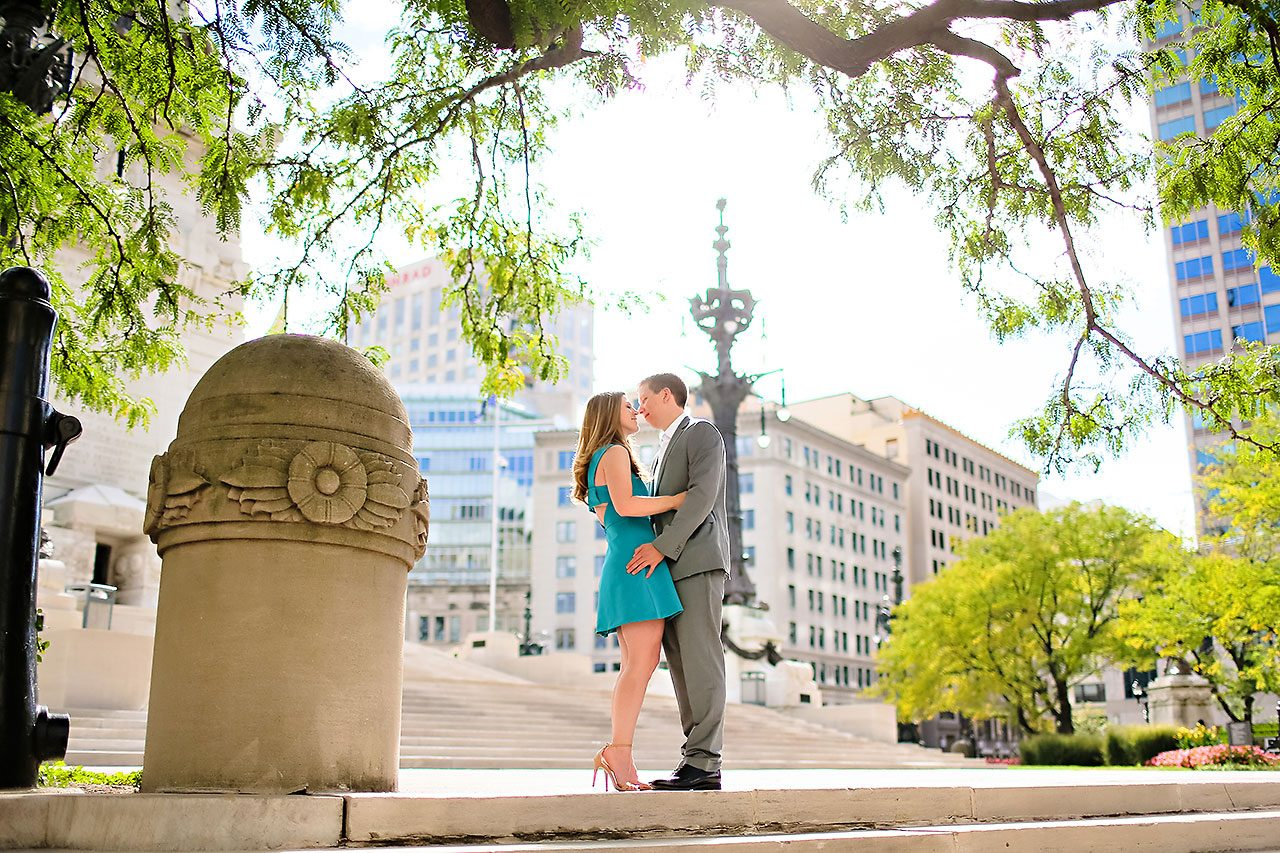 Chelsea Jeff Downtown Indy Engagement Session 119