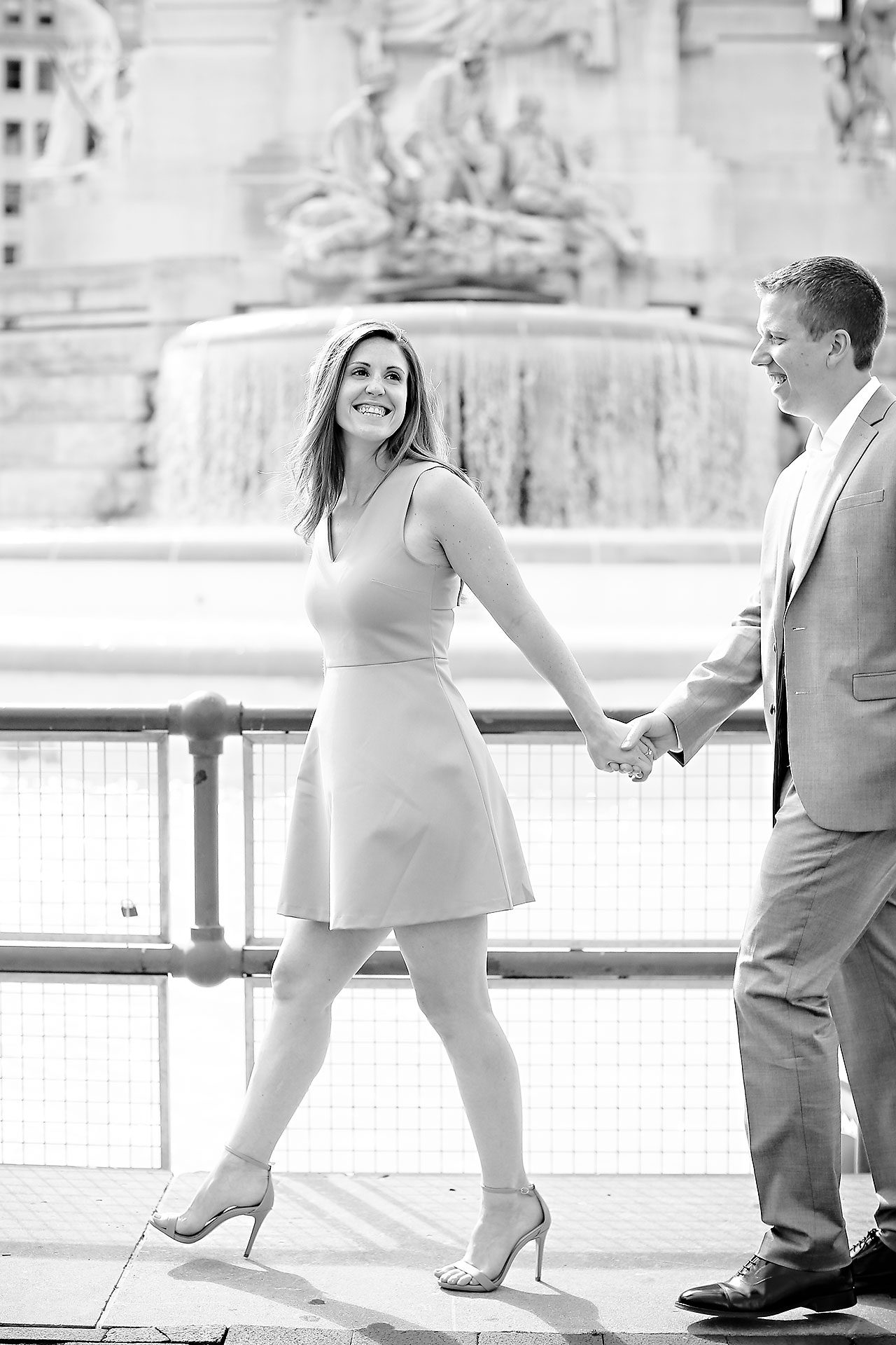 Chelsea Jeff Downtown Indy Engagement Session 129