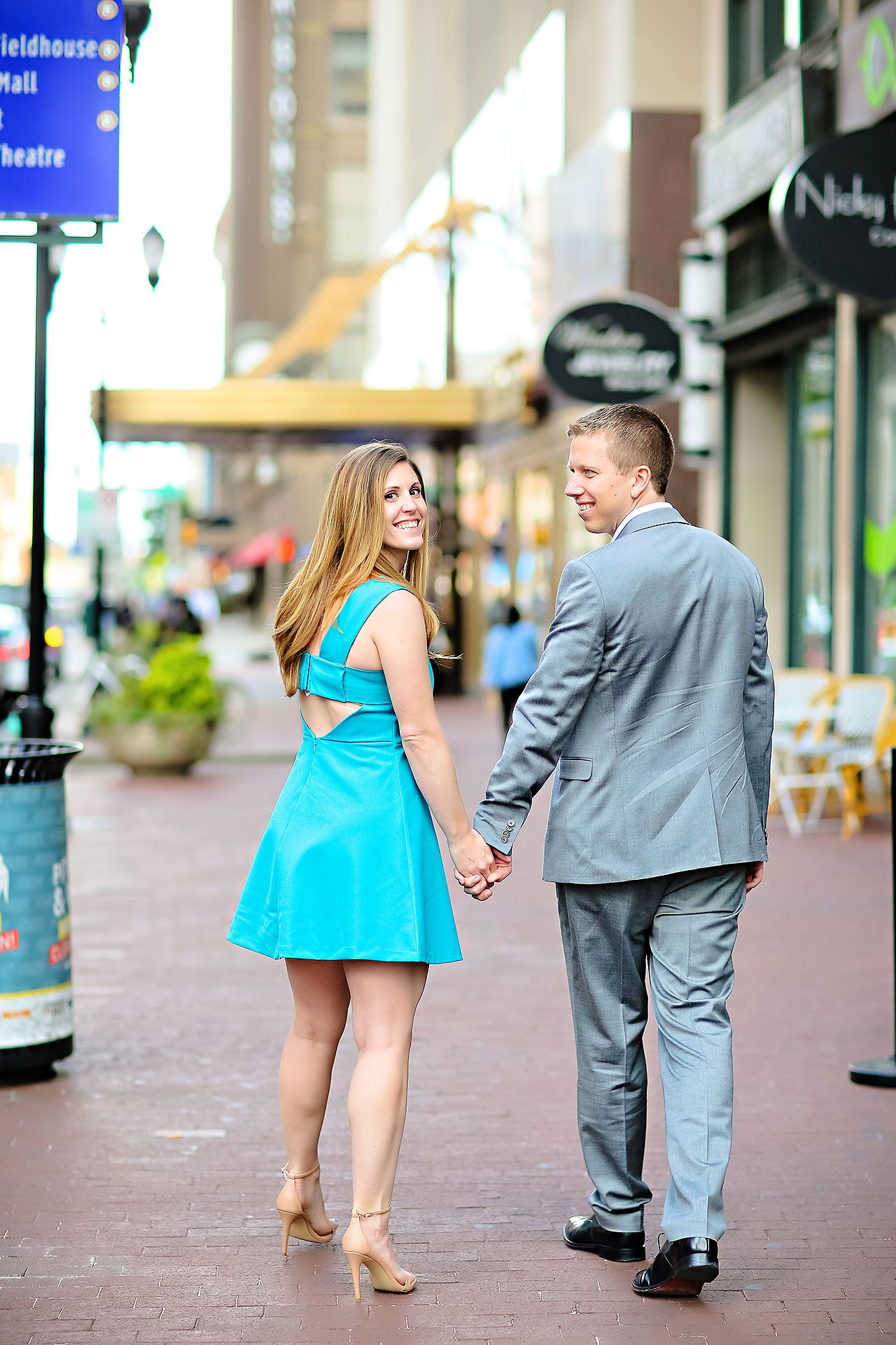 Chelsea Jeff Downtown Indy Engagement Session 130