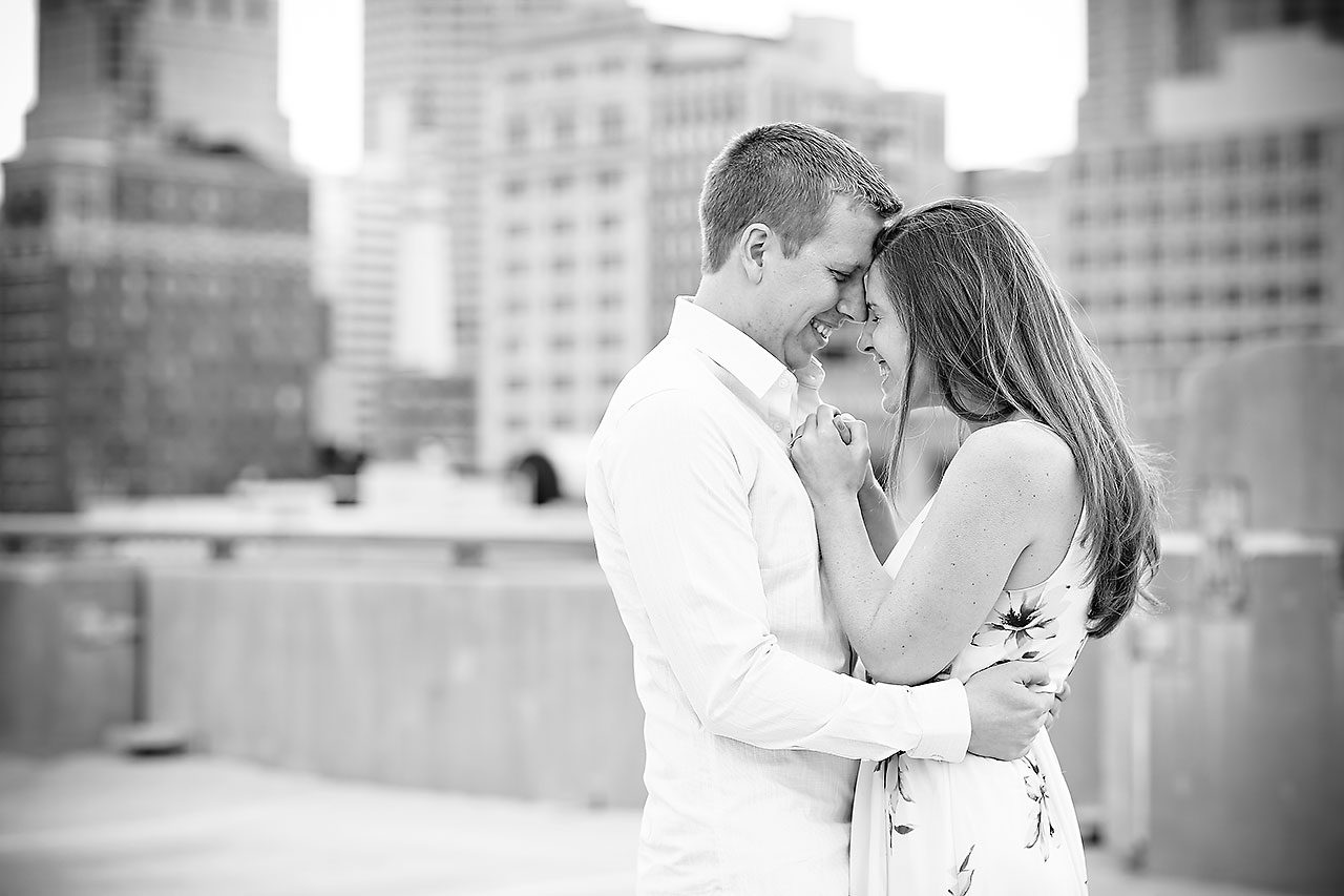 Chelsea Jeff Downtown Indy Engagement Session 132