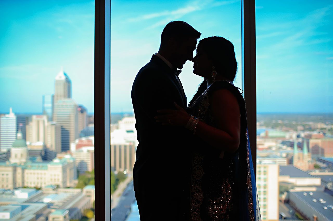 Rojita Chris Indianapolis Indian Wedding JW Marriott