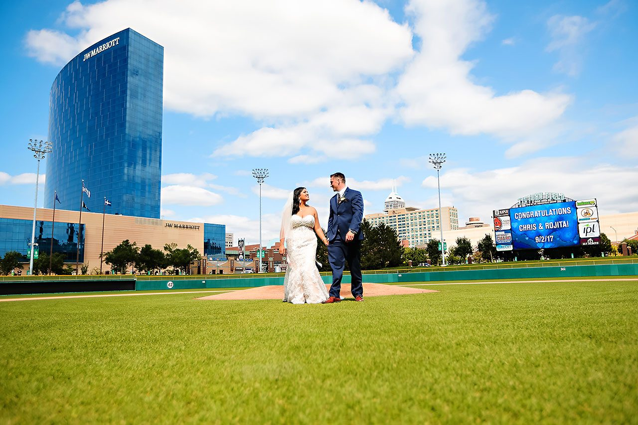 Rojita Chris St Johns Victory Field Wedding