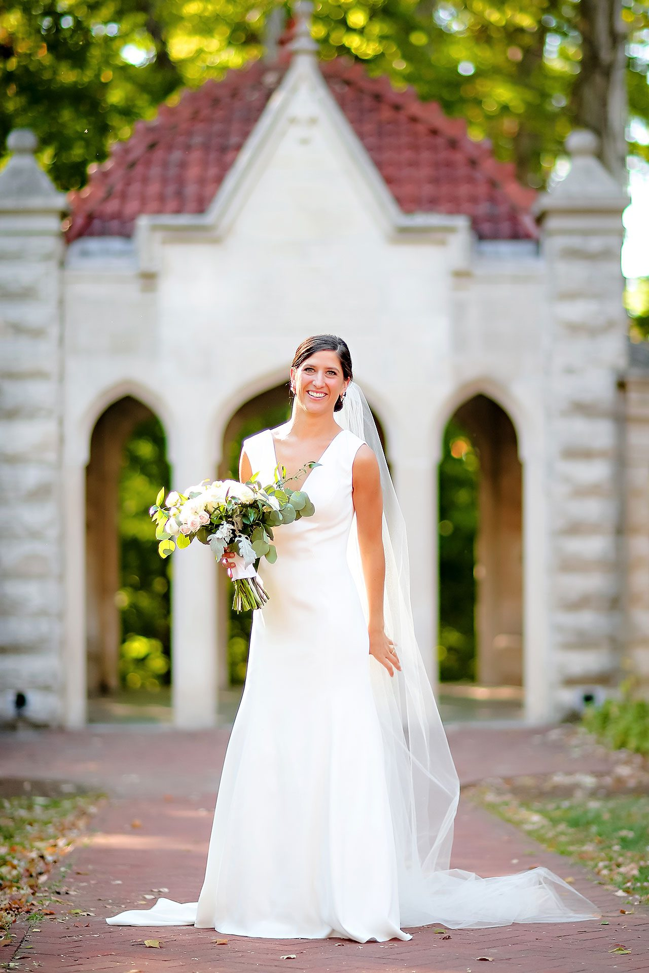 Emily Michael IU Wedding Alumni Hall 185
