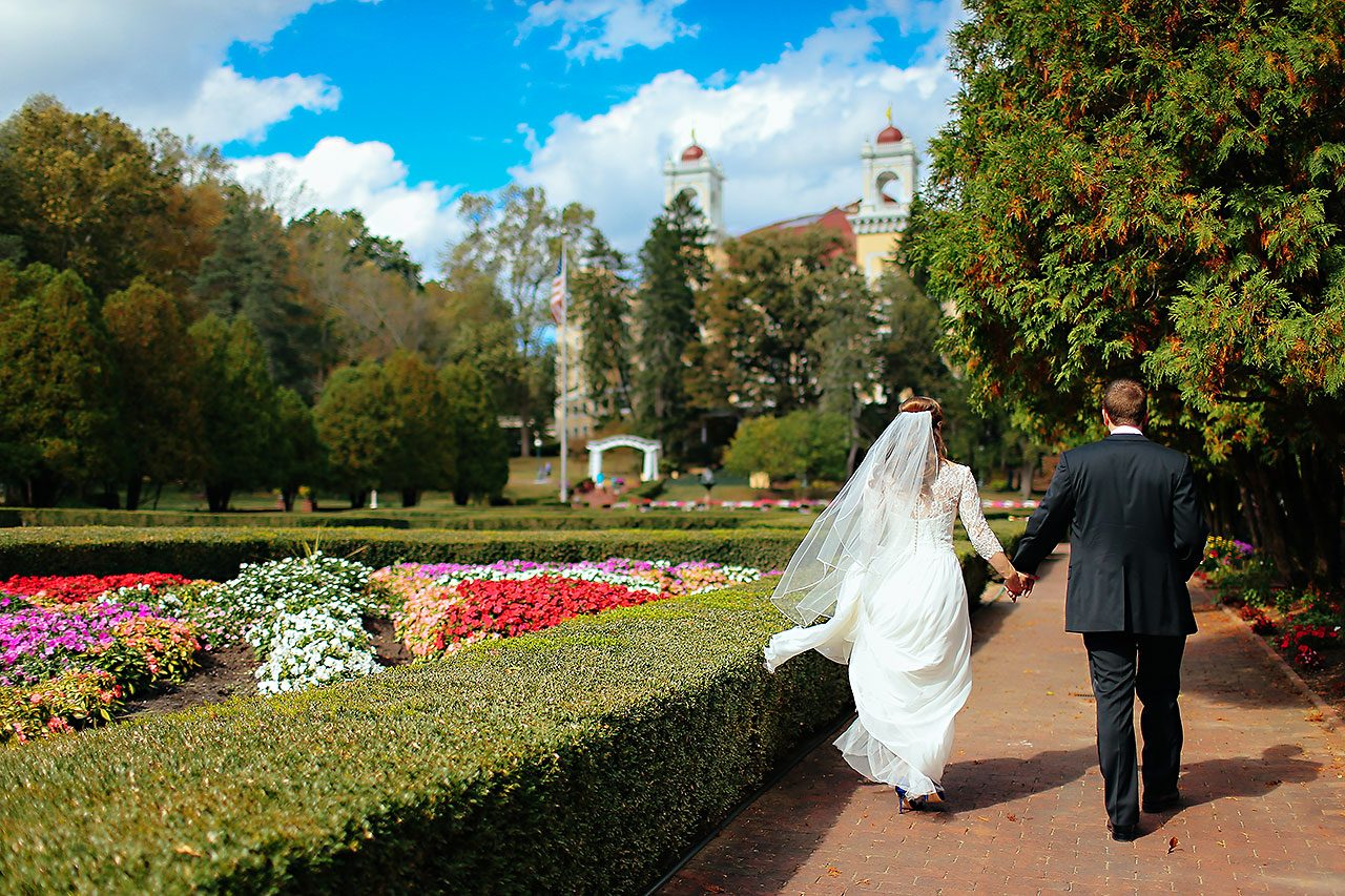 Chelsea Jeff West Baden Wedding