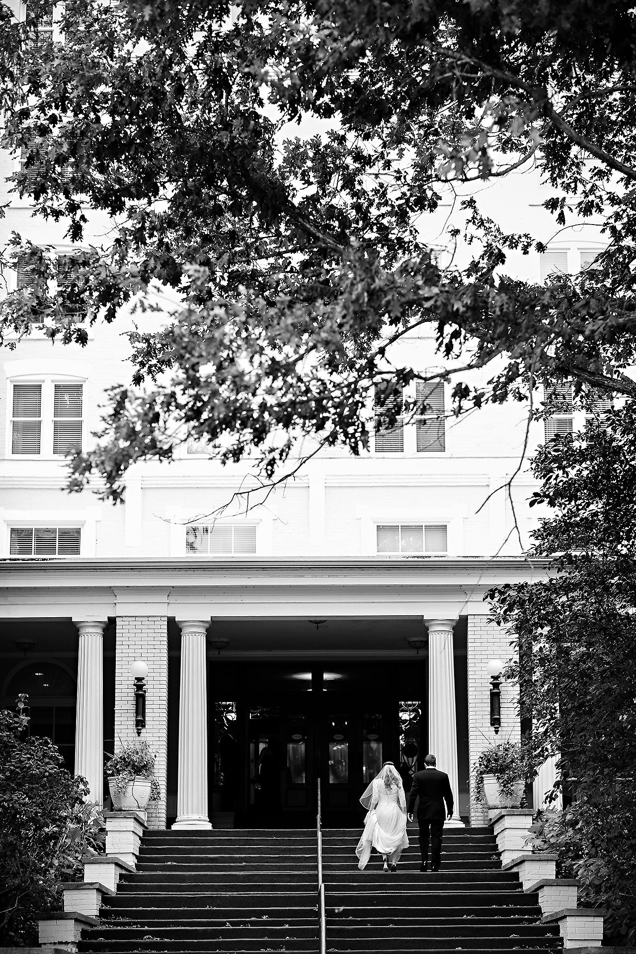Chelsea Jeff West Baden Wedding 216
