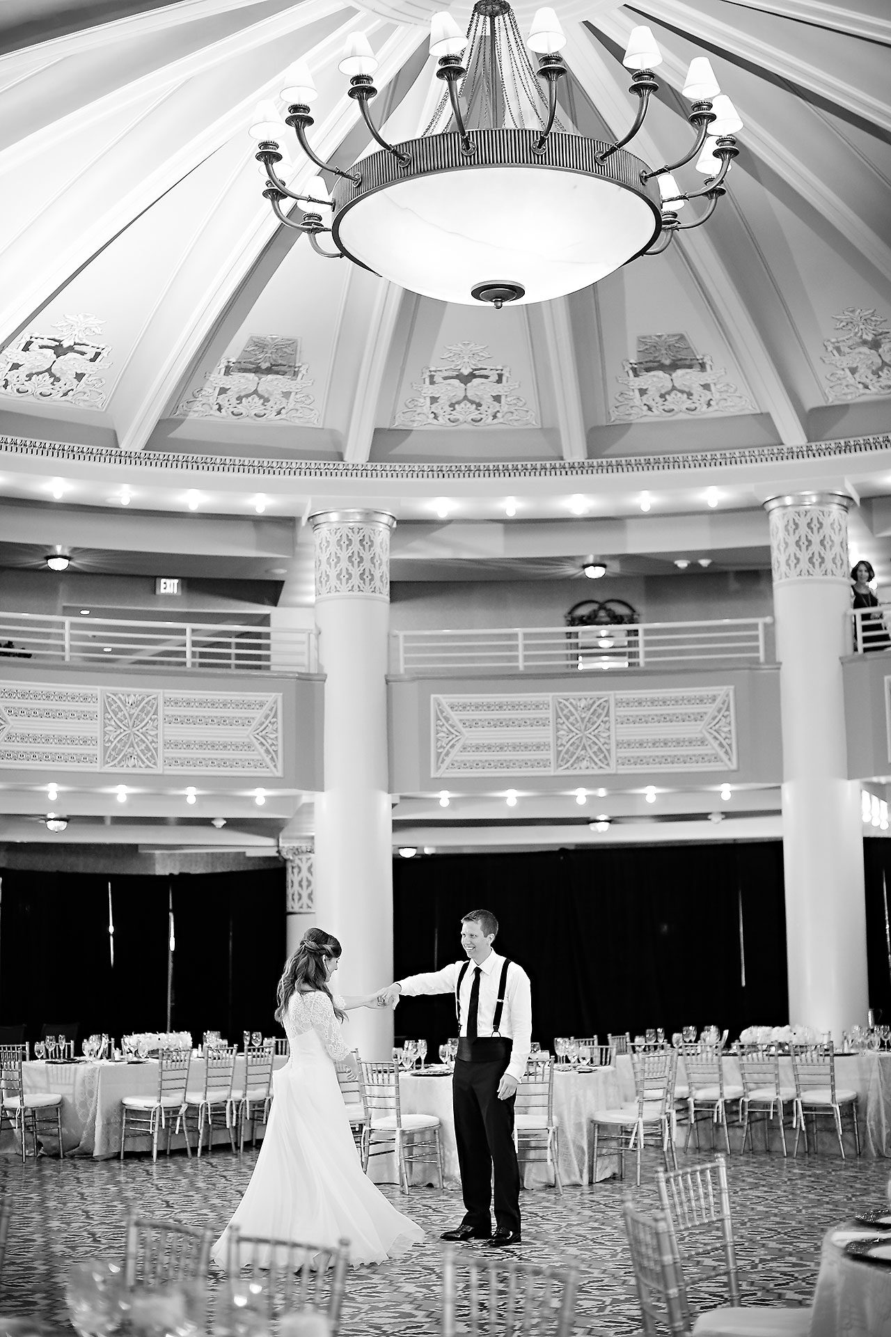 Chelsea Jeff West Baden Wedding 304