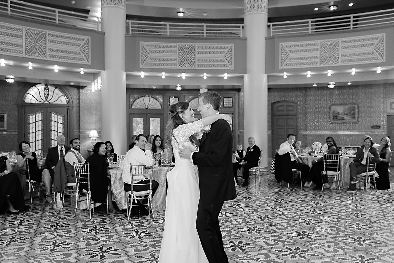 Chelsea Jeff West Baden Wedding 316