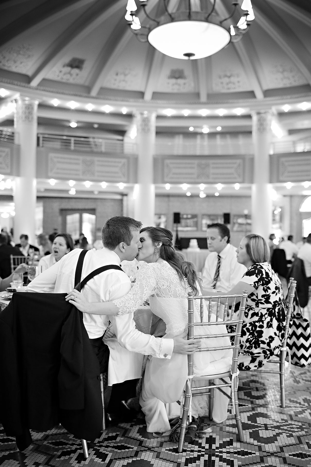 Chelsea Jeff West Baden Wedding 322
