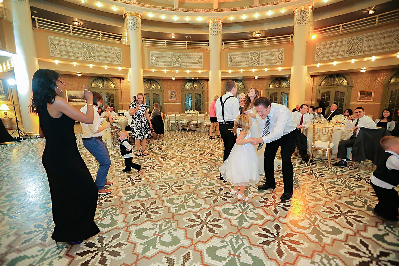 Chelsea Jeff West Baden Wedding 363