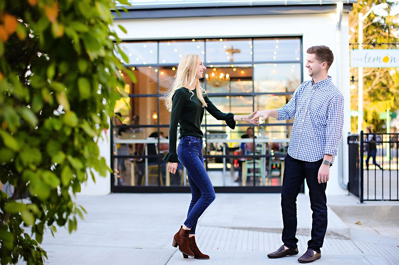 Molly Declan Zionsville Engagement Session