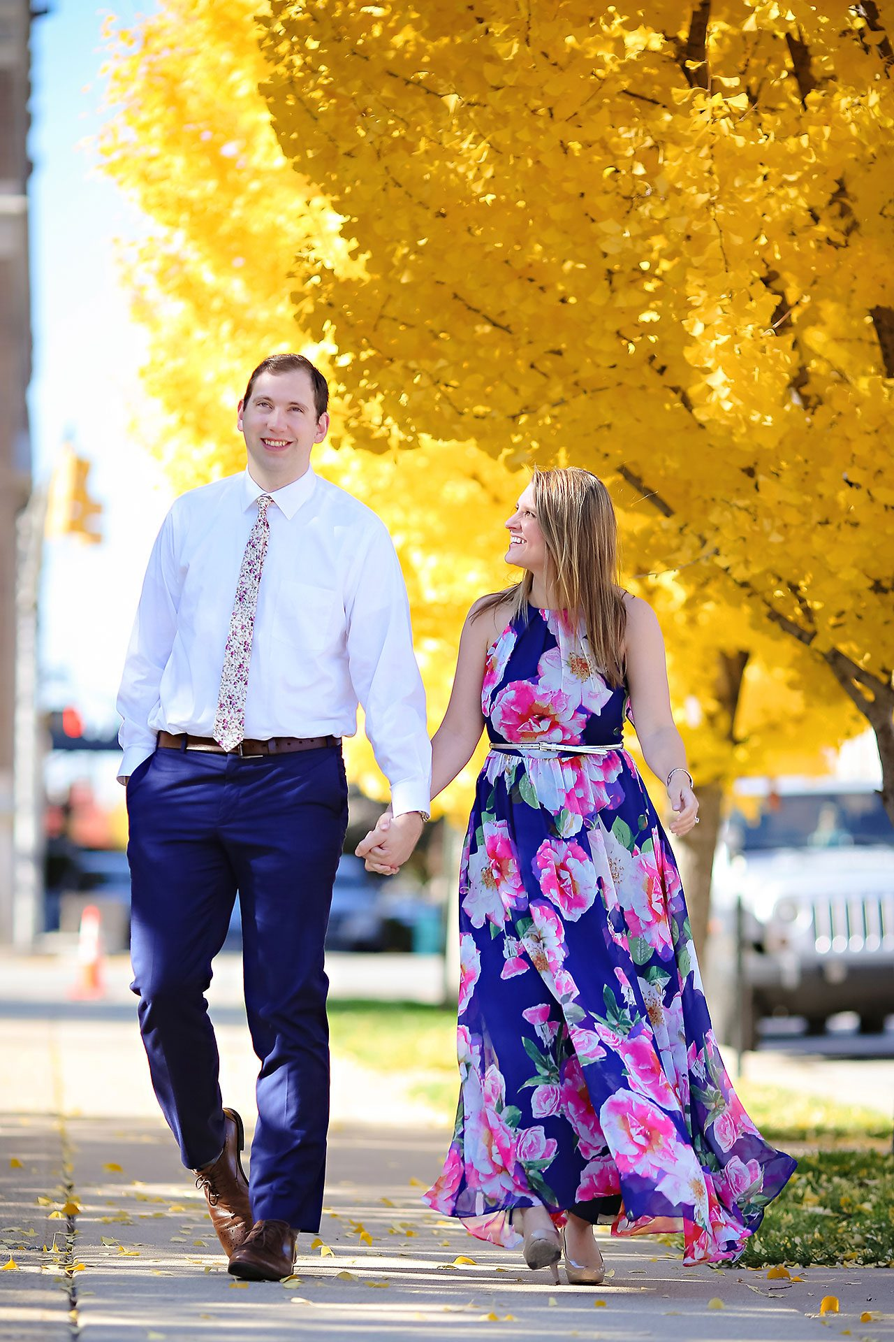 Katelyn Matt Indianapolis Fall Engagement Session 047
