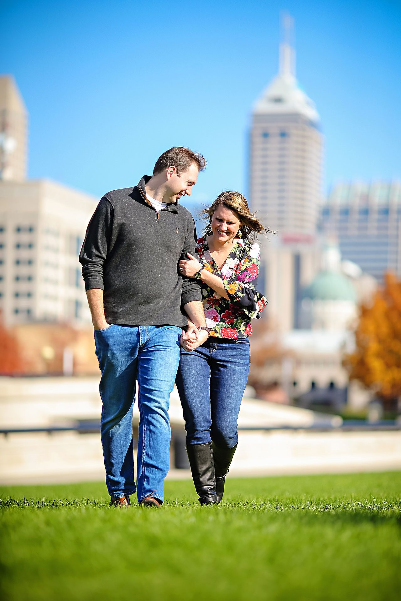 Katelyn Matt Indianapolis Fall Engagement Session 124
