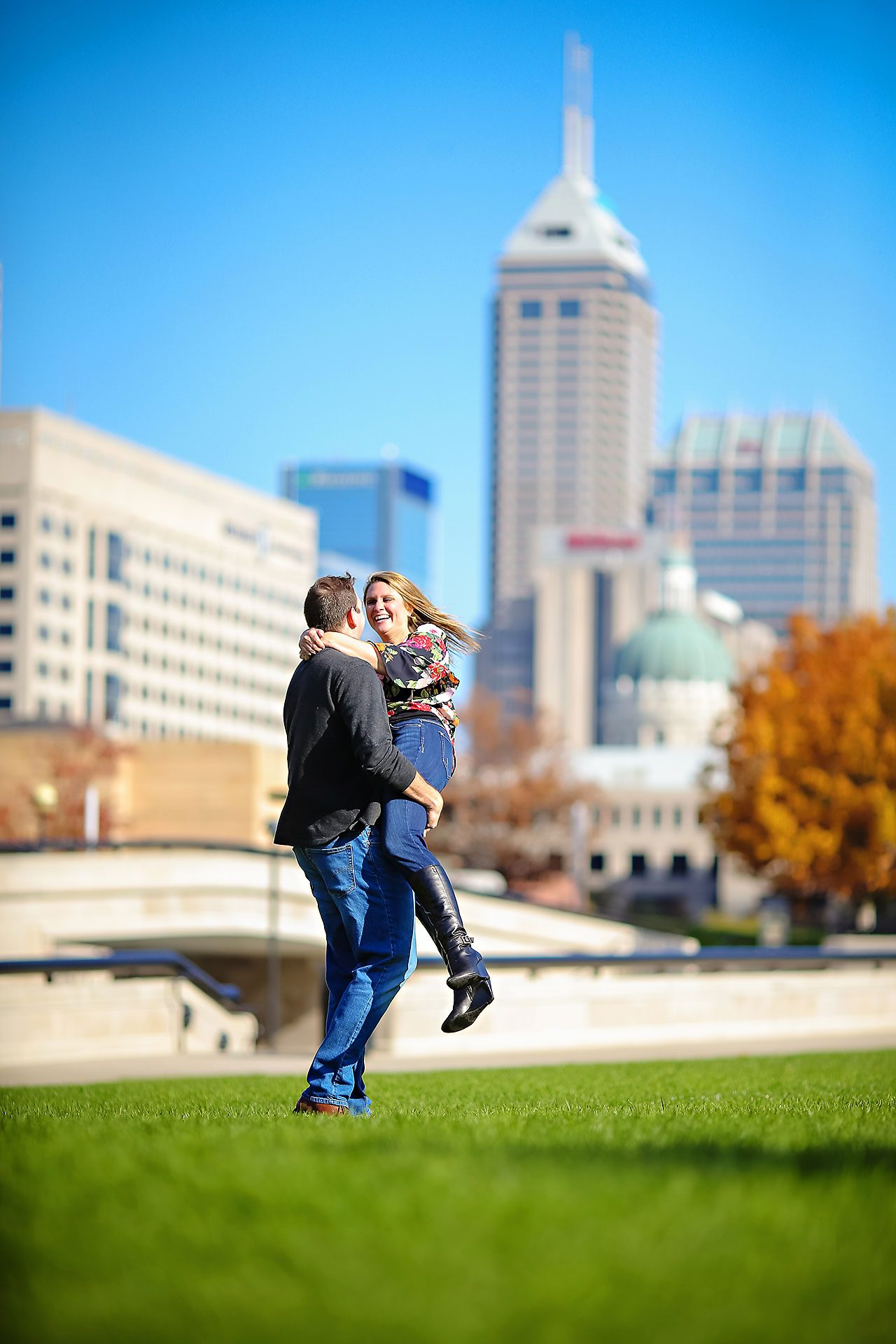 Katelyn Matt Indianapolis Fall Engagement Session 126