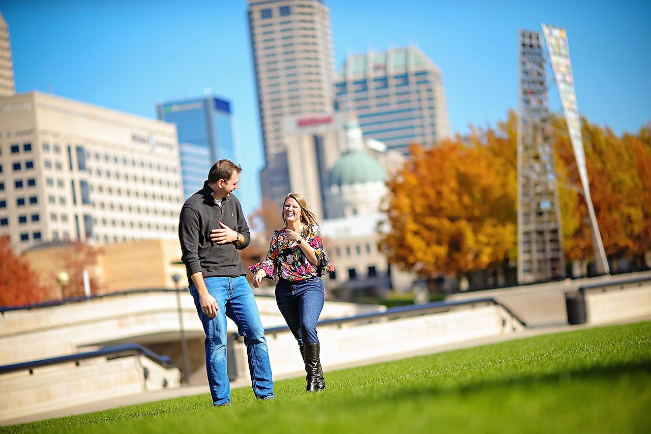 Katelyn Matt Indianapolis Fall Engagement Session 129