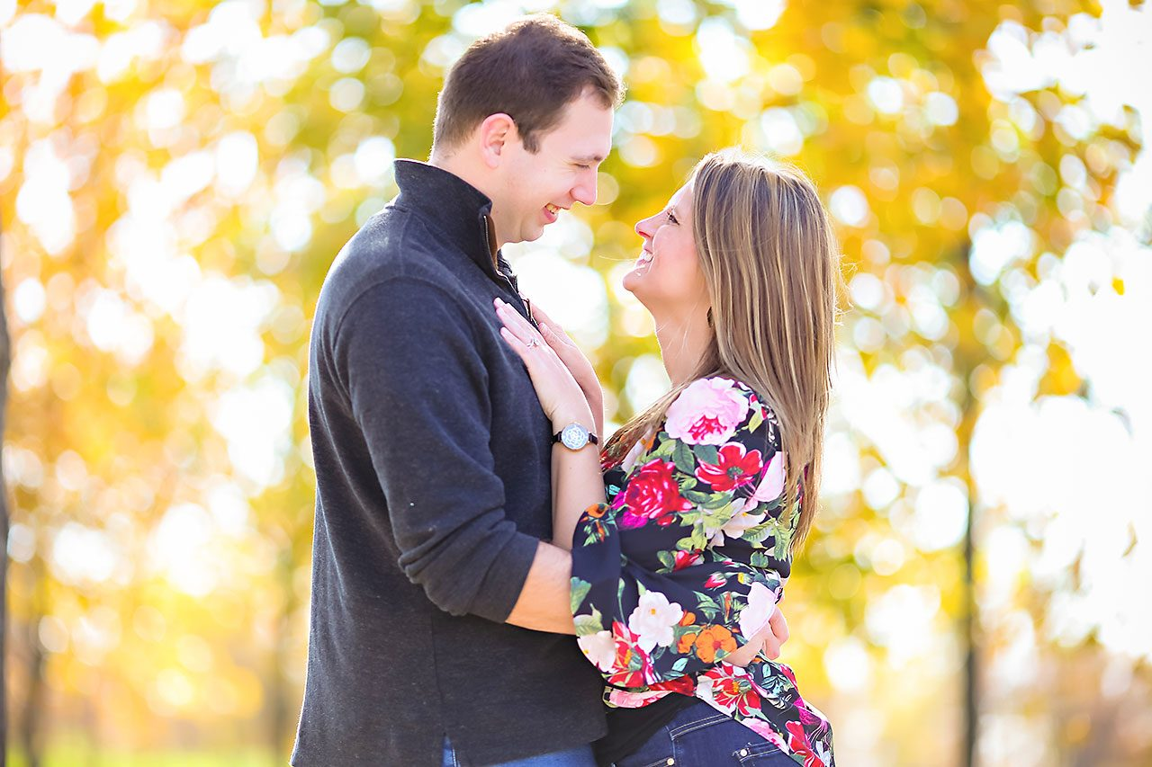 Katelyn Matt Indianapolis Fall Engagement Session 130