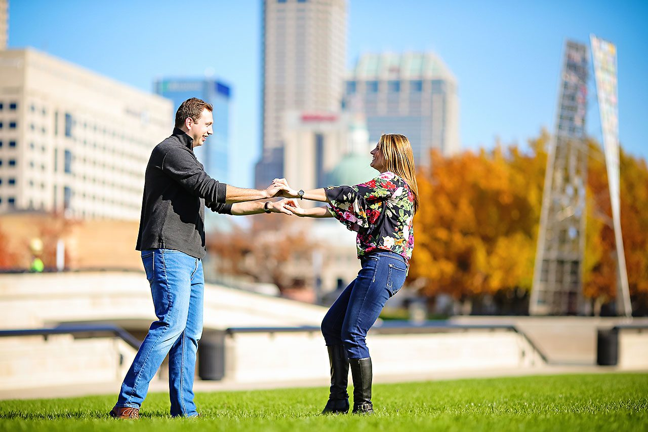 Katelyn Matt Indianapolis Fall Engagement Session 131