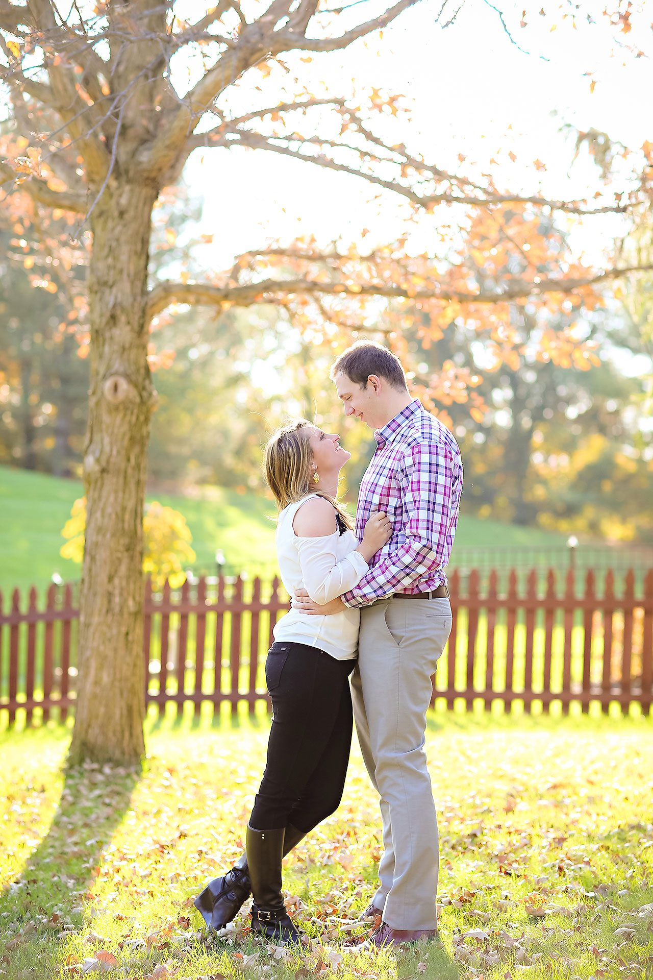 Katelyn Matt Indianapolis Fall Engagement Session 134