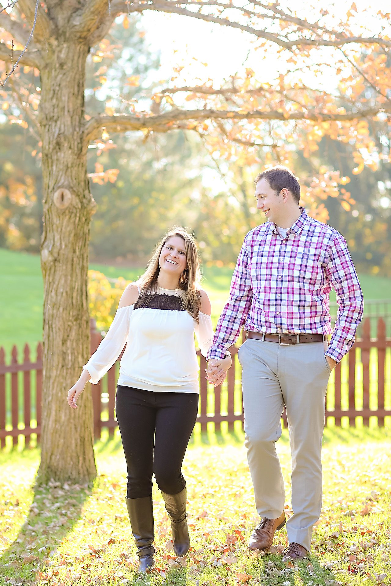 Katelyn Matt Indianapolis Fall Engagement Session 136