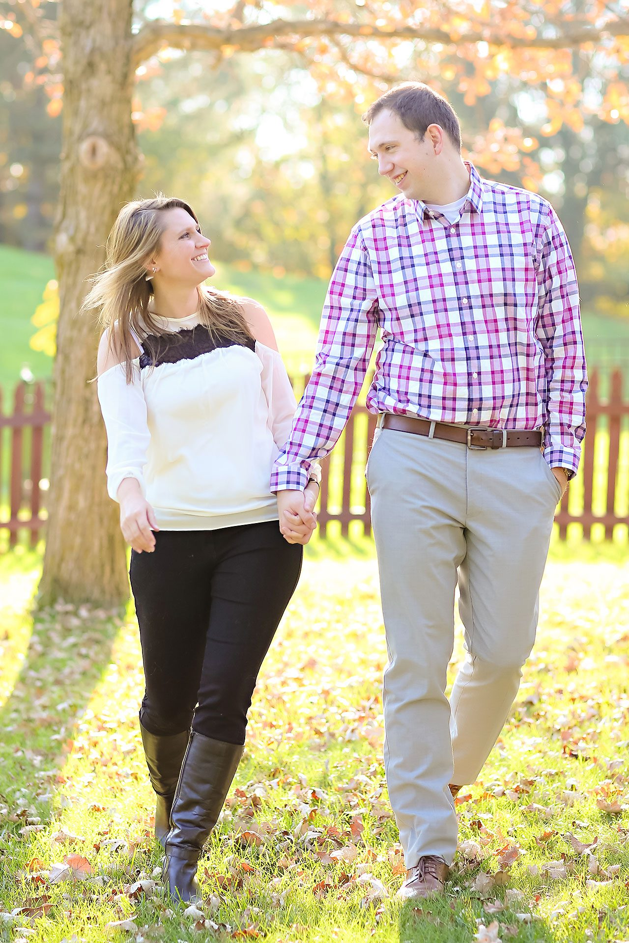 Katelyn Matt Indianapolis Fall Engagement Session 141