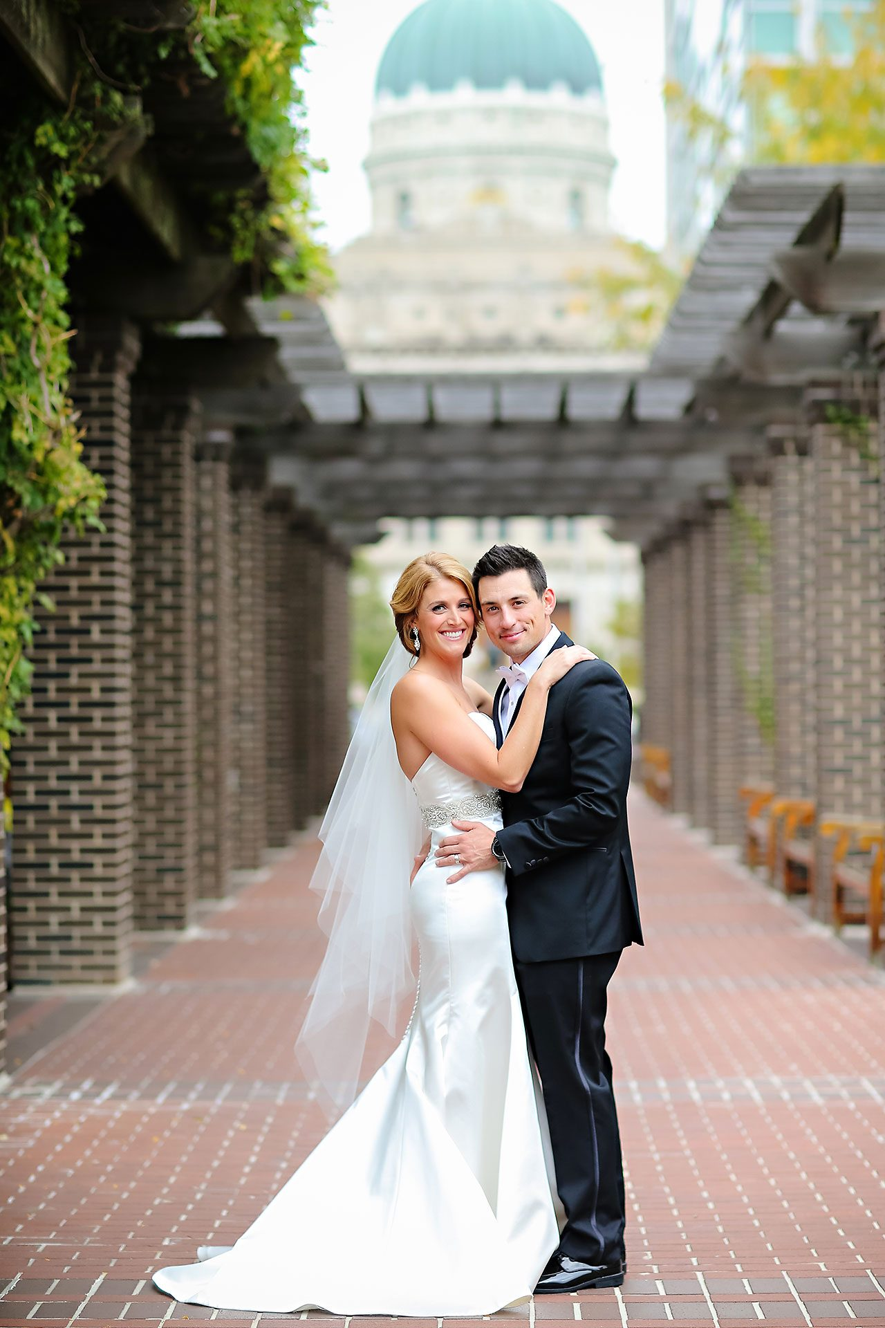 Kayci Matt Indiana Roof Ballroom Indianapolis Wedding 069