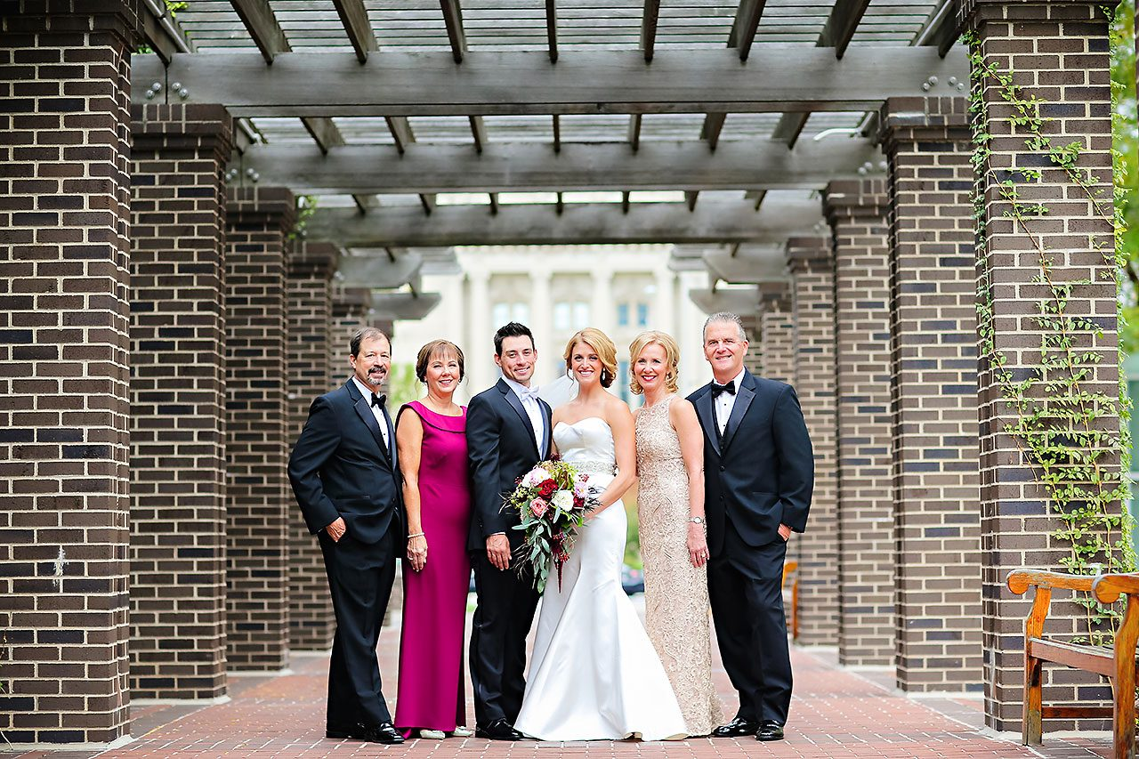 Kayci Matt Indiana Roof Ballroom Indianapolis Wedding 071