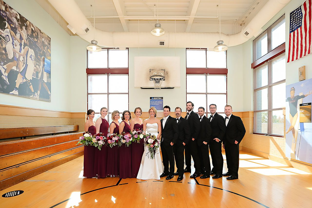 Kayci Matt Indiana Roof Ballroom Indianapolis Wedding 111