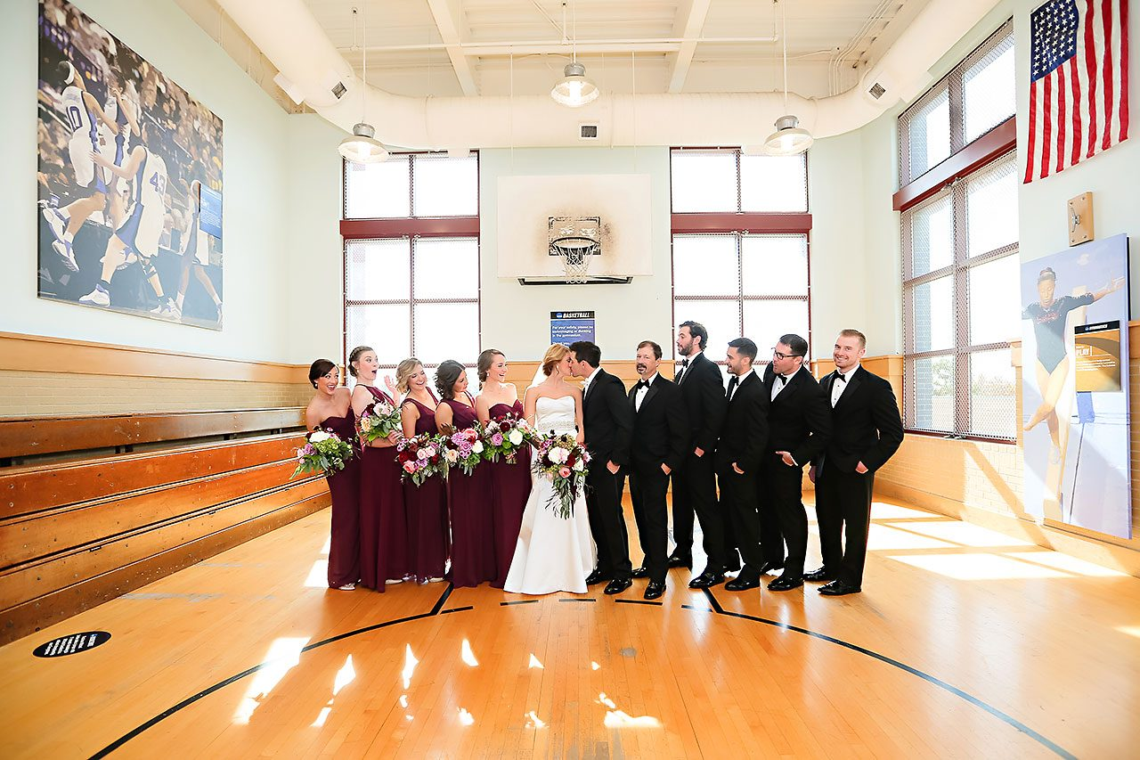 Kayci Matt Indiana Roof Ballroom Indianapolis Wedding 116