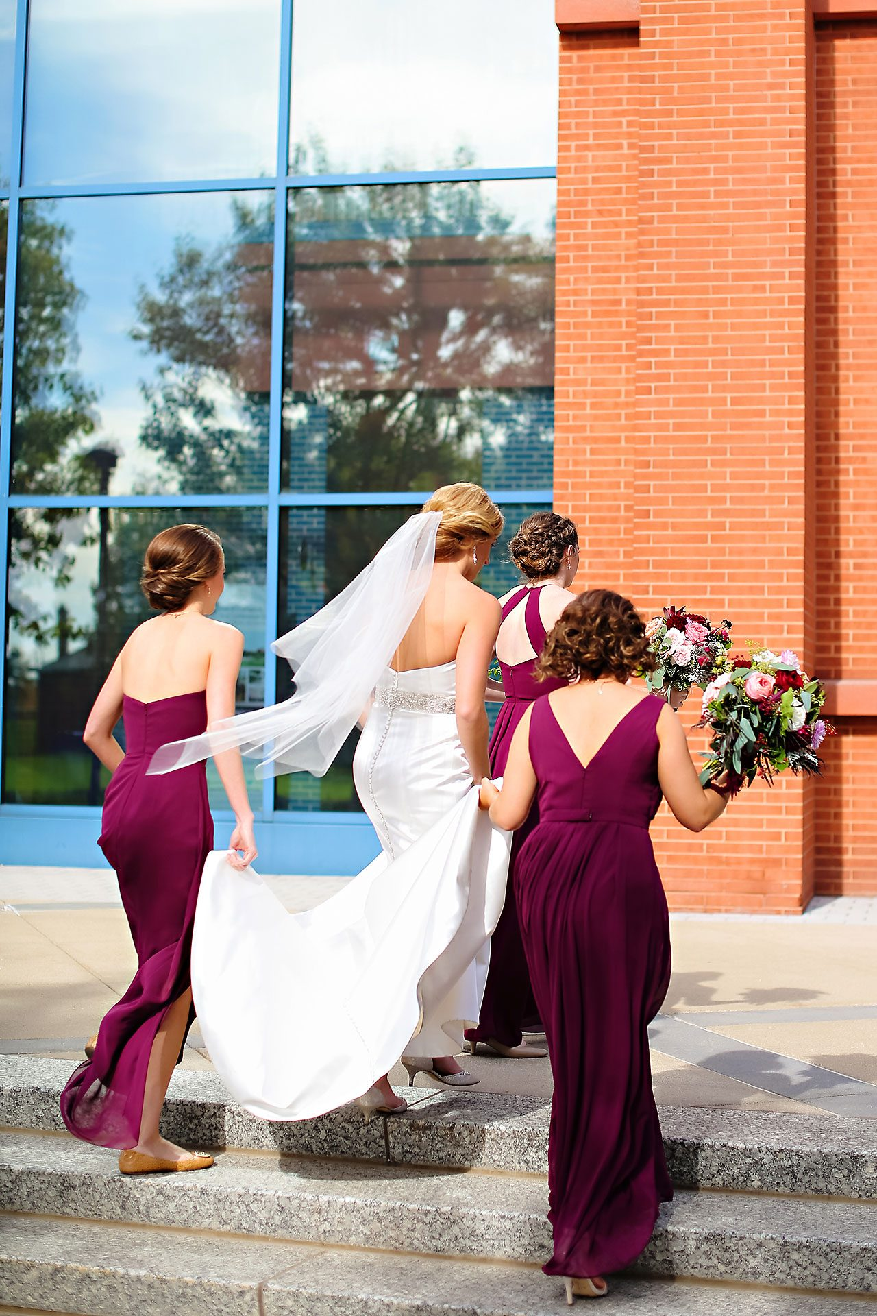 Kayci Matt Indiana Roof Ballroom Indianapolis Wedding 152