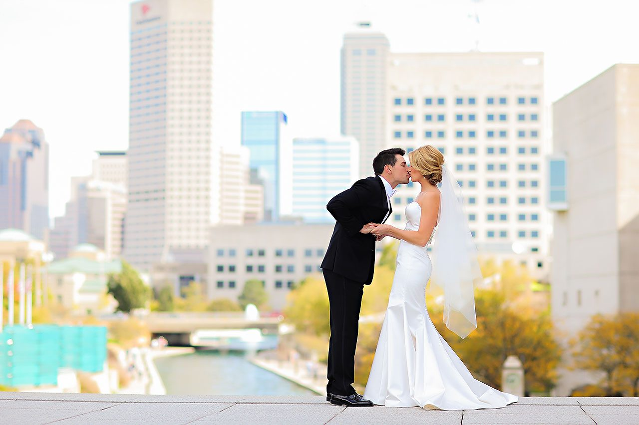 Kayci Matt Indiana Roof Ballroom Indianapolis Wedding 161