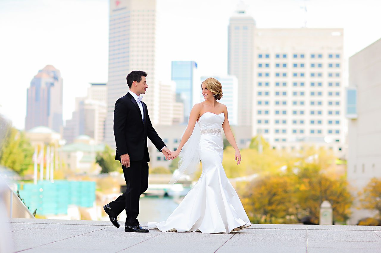 Kayci Matt Indiana Roof Ballroom Indianapolis Wedding 163