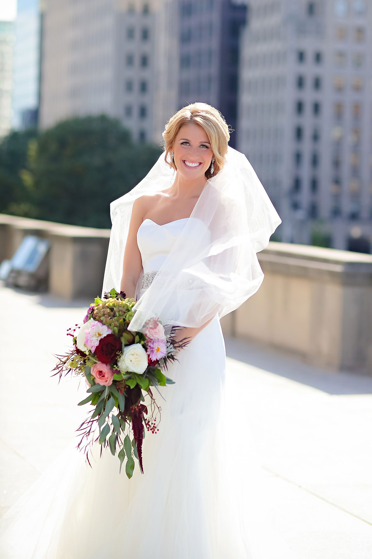 Kayci Matt Indiana Roof Ballroom Indianapolis Wedding 170