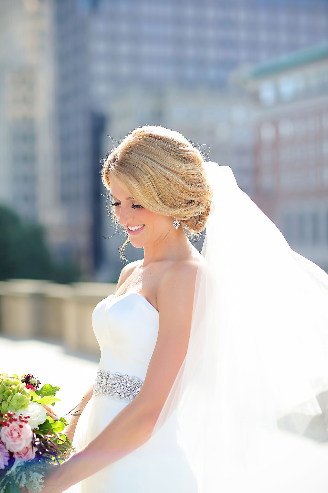 Kayci Matt Indiana Roof Ballroom Indianapolis Wedding 172