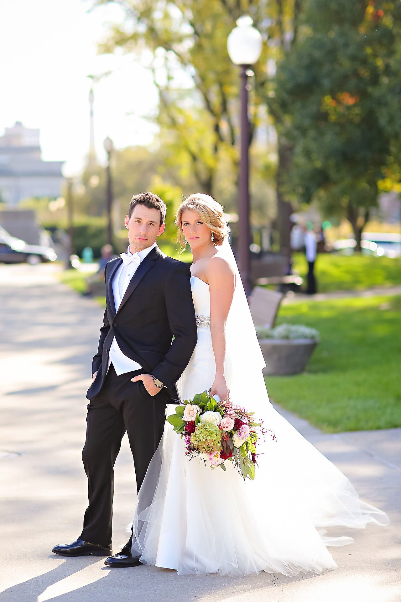 Kayci Matt Indiana Roof Ballroom Indianapolis Wedding 173