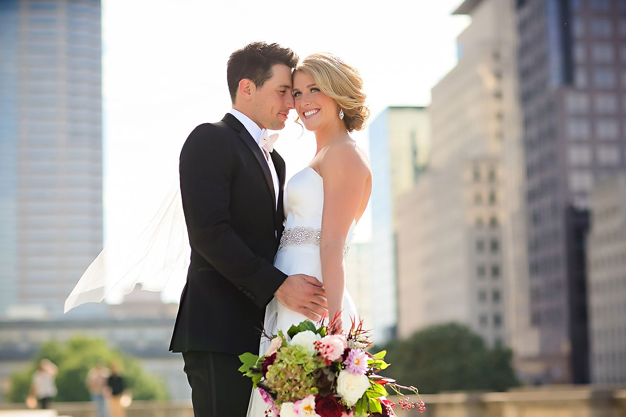 Kayci Matt Indiana Roof Ballroom Indianapolis Wedding 180