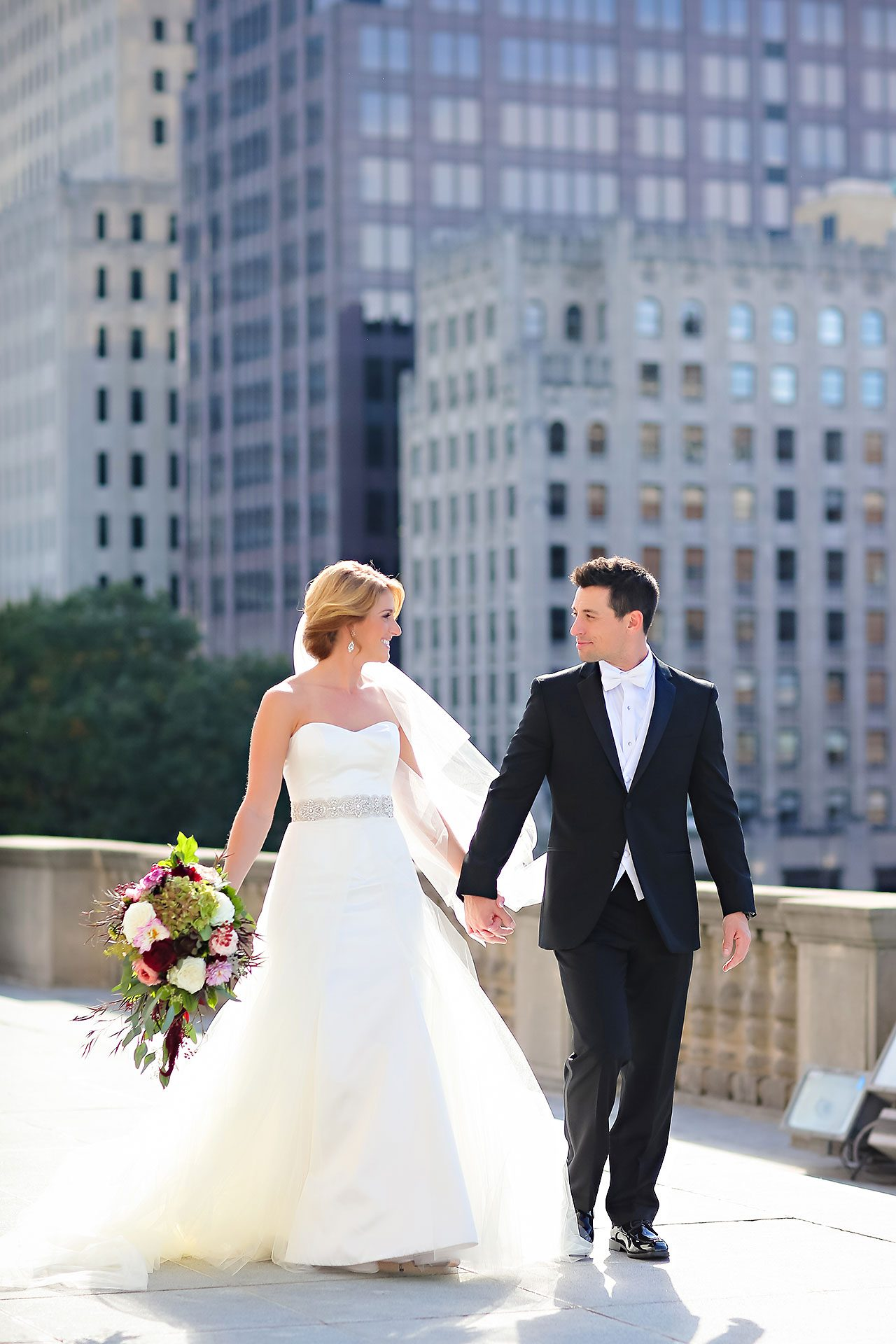 Kayci Matt Indiana Roof Ballroom Indianapolis Wedding 188