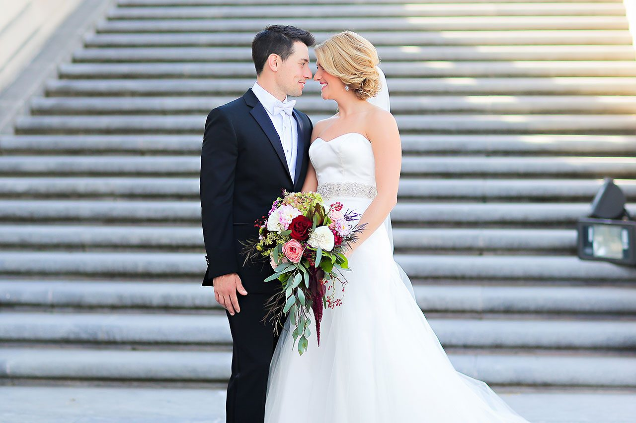 Kayci Matt Indiana Roof Ballroom Indianapolis Wedding 192
