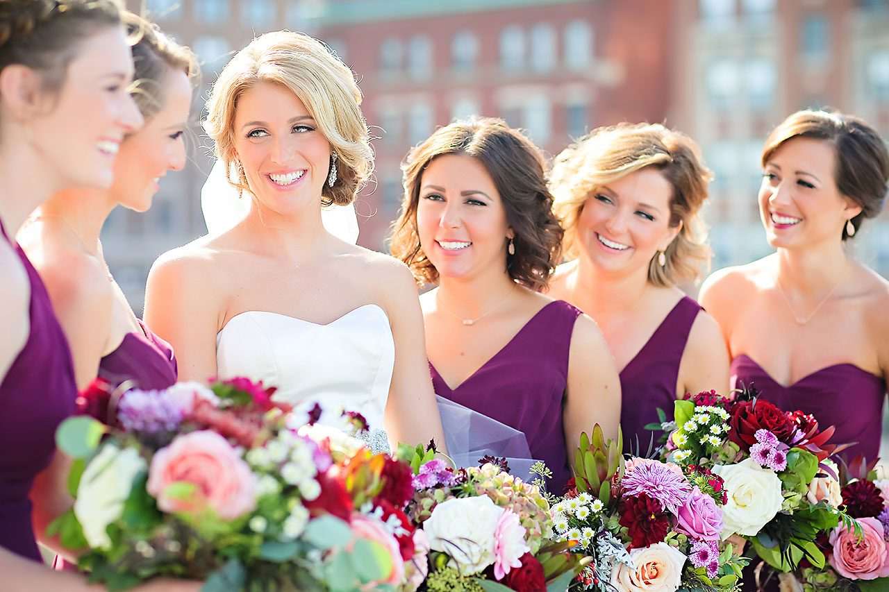 Kayci Matt Indiana Roof Ballroom Indianapolis Wedding 194