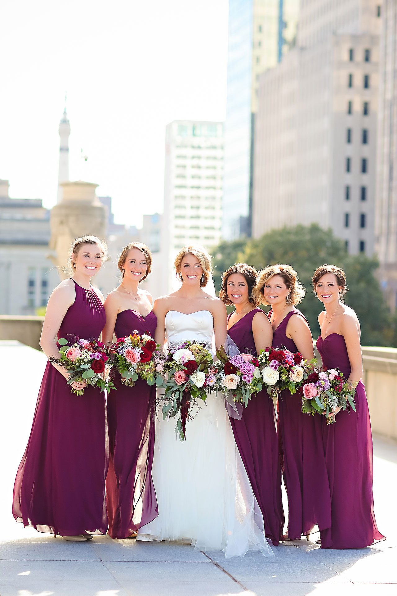 Kayci Matt Indiana Roof Ballroom Indianapolis Wedding 203