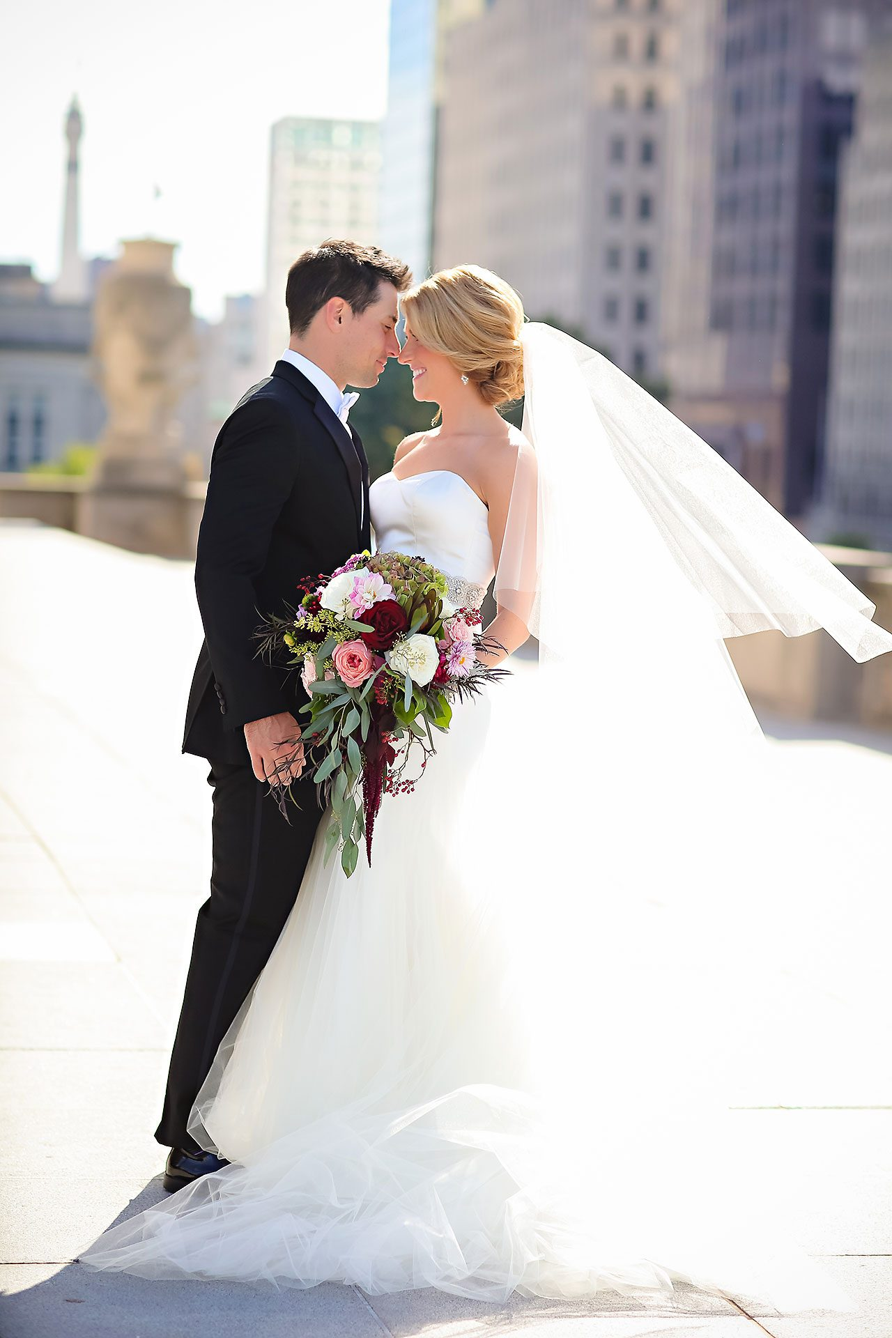Kayci Matt Indiana Roof Ballroom Indianapolis Wedding 204