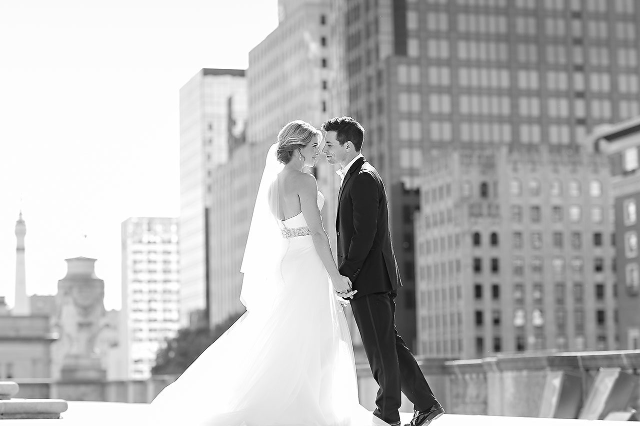 Kayci Matt Indiana Roof Ballroom Indianapolis Wedding 213